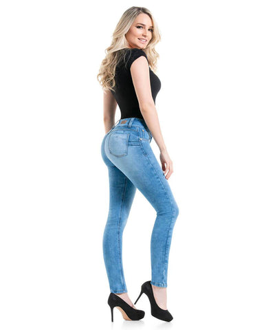 JOSEPHINE - Colombian Push Up Jeans by BONITABELLA