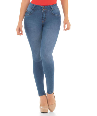 VALERIA - Push Up Jeans by BONITABELLA