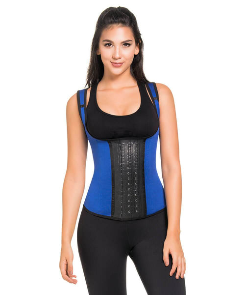 1334 - Full Control Body Shaper Vest ROYAL BLUE