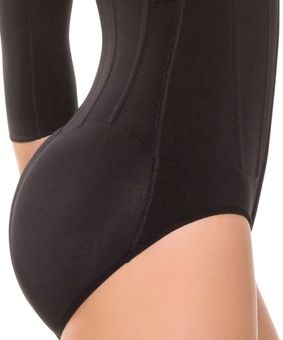 477 - Arms & Tummy Control Body Shaper with Removable Bra