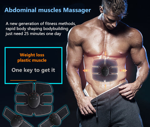 Abdominal machine electric muscle stimulator ABS ems Trainer