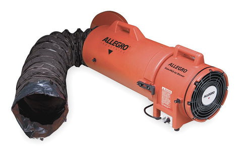 "8"" Plastic Explosion Proof COM-PAX-IAL Blower with Ducting"