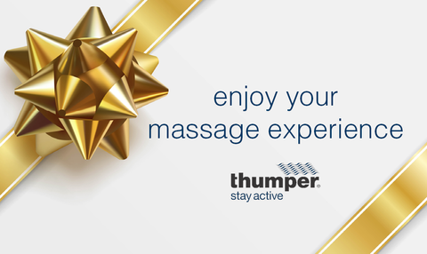 Thumper Gift Card (Enjoy Your Massage Experience)