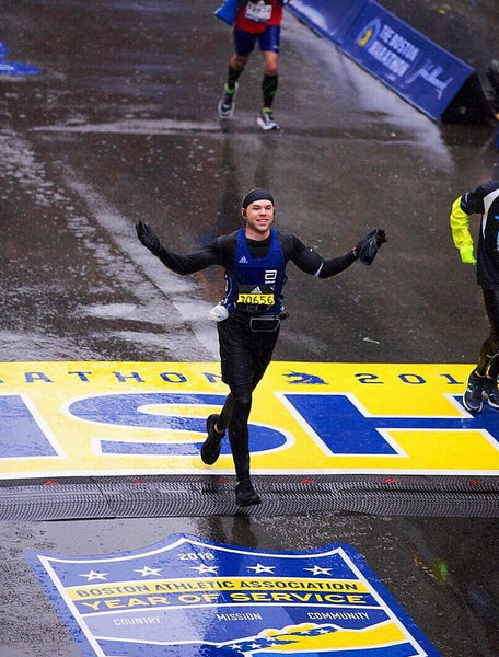 Patrick O'Brien, Type-1 Diabetic, running the Boston Marathon.