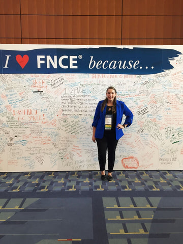 Lizzie O'Connor, RD at FNCE