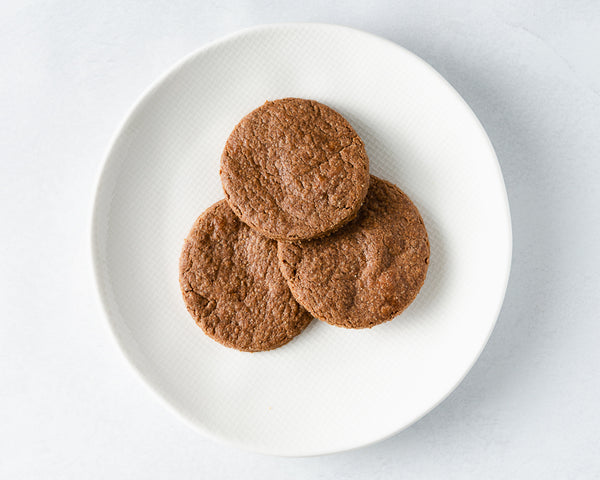 Chocolate seed butter cookies