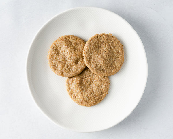 Vanilla Spiced Sunflower Seed Butter cookies
