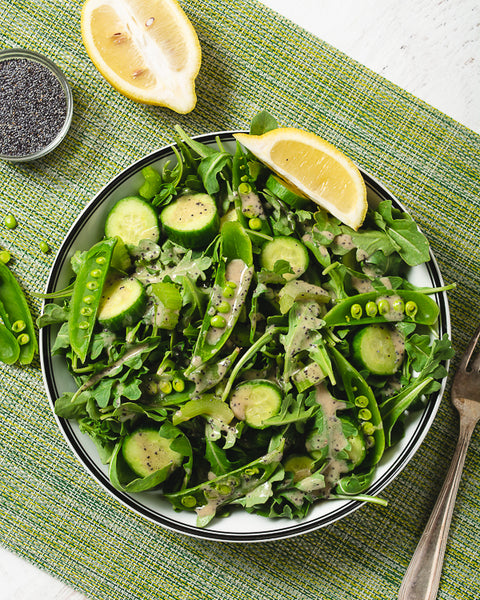 lemon poppy seed salad