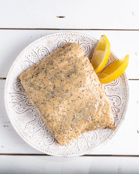lemon poppy seed grilled salmon