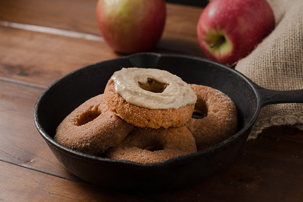 Maple Seed Butter Apple Cider Donuts Gluten Free Vegan