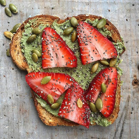 Pumpkin Seed Butter Toast
