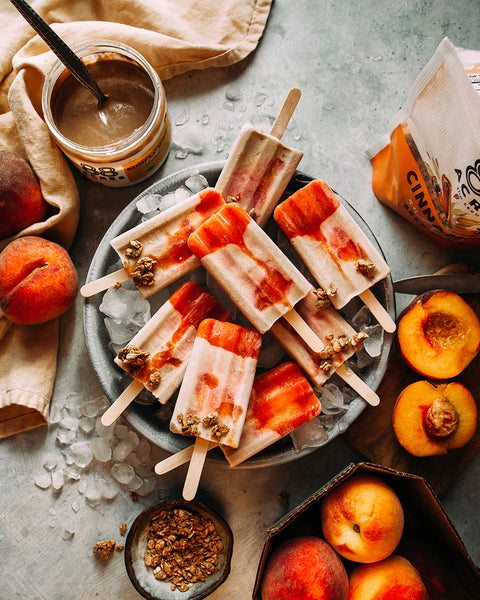 The First Mess's Vanilla Spiced Peach Pops