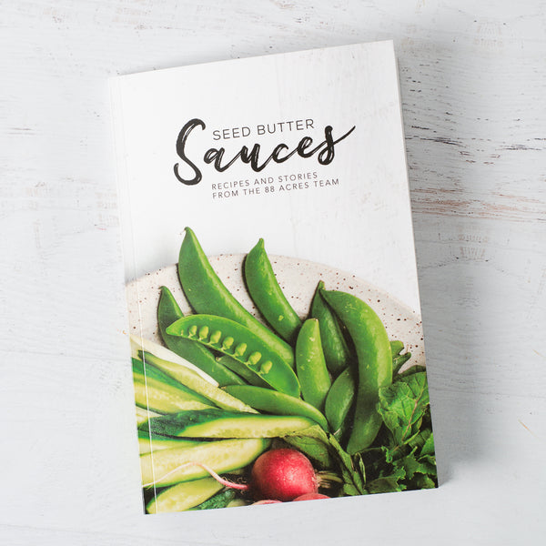 Seed Butter Sauces Cookbook