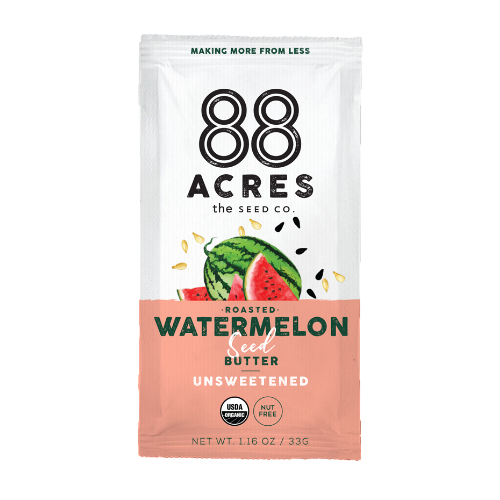 Watermelon Seed Butter Unsweetened Pouches