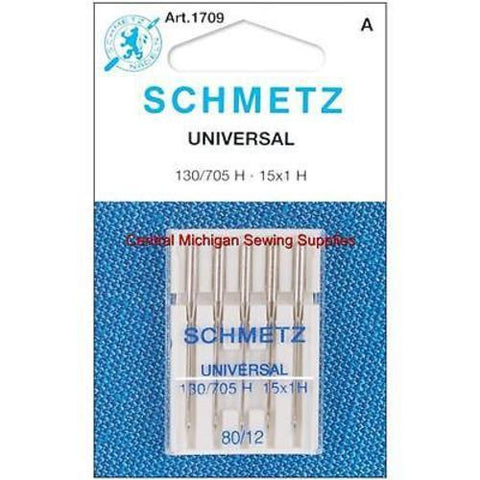 Schmetz Sharp Point Needles Fits Singer Models 15, 27, 28, 66, 99, 201, 221, 301, 401, 403, 404, 500, 503, Most Home Machines