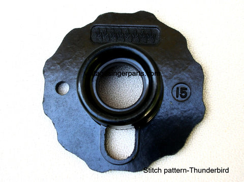 Original Singer Top Hat Cam # 15 Thunderbird 174537 Fits Models 401, 403, 411, 431, 500, 503, 600 series