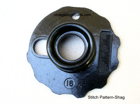 Original Singer Top Hat Cam # 16 Shag 174544 Fits Models 401, 403, 411, 431, 500, 503, 600 series