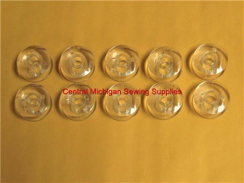 Singer Sewing Machine Plastic Bobbins Class 66 Grade A Fits Many Models