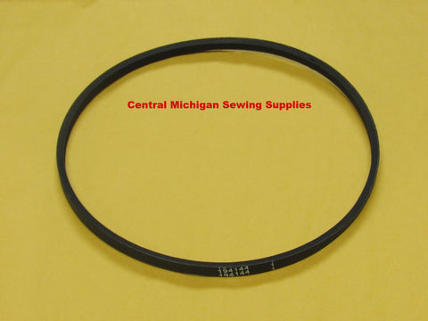"Singer Model 221 & 222 Motor V-Belt 17 1/2"" Original Style Black"