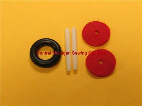 Singer Sewing Machine Spool Pin Kit Fits Models 223, 237, 239, 242, 247, 252, 257, 258, 360, 360