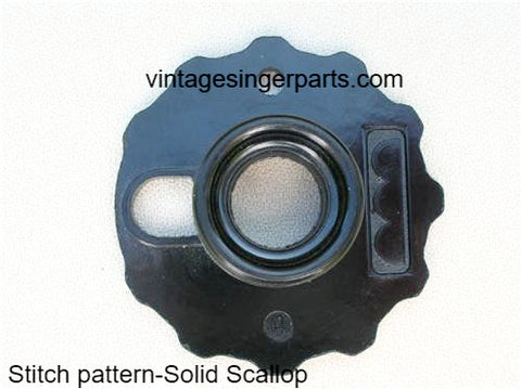 Original Singer Top Hat Cam # 4 Solid Scallop 172190 Fits Models 401, 403, 411, 431, 500, 503, 600 series