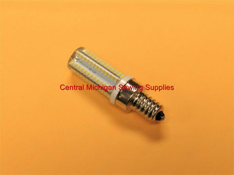 "Sewing Machine LED Light Bulb 7/16"" Base Screw In Type 15 Watt 120 Volt"