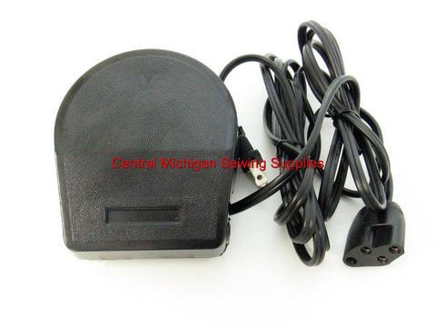 New Repacement Foot Control & Cord Fits Necchi Models 534 SuperNova Julia, Ultra, Mirella, Esperia