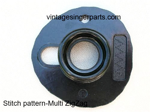 Original Singer Top Hat Cam # 9 Multi ZigZag 174527 Fits Models 401, 403, 411, 431, 500, 503, 600 series