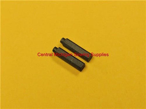 New Replacement Carbon Motor Brushes Fits Singer Model 301, 301A Part # 190782