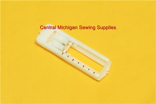 Singer Sewing Machine Slant Needle Snap on Buttonhole Foot Fits Many Models