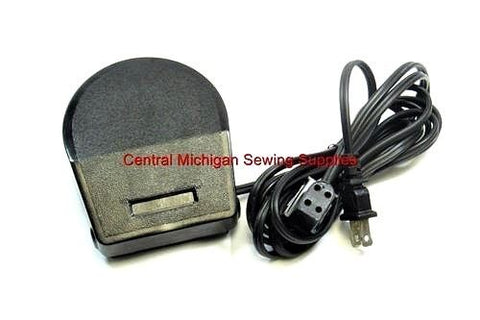 Singer Foot Control With Cord Fits Models 620, 625, 626, 628, 629, 635, 636, 638, 639, 645, 645 646, 648, 649