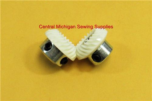 New Replacement Hook Gear Set Angled Fits Models 507, 509, 513, 514, 518, 522, 527, 533, 534, 538, 543, 560, 800, 834, 838, 844, 860