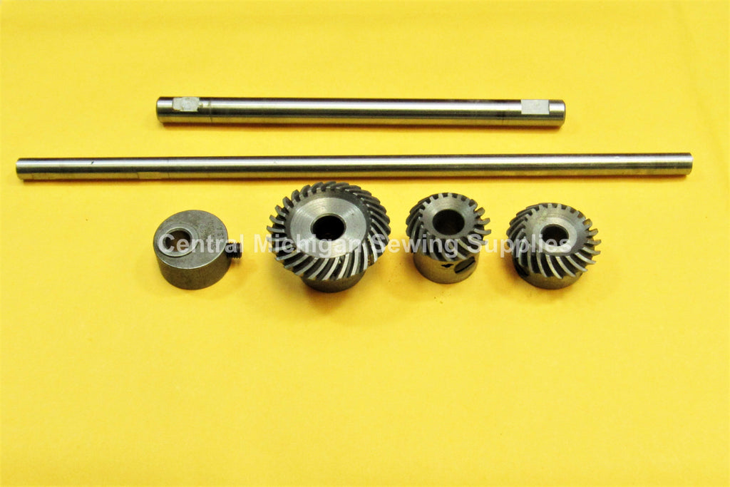 Singer Model 221 Gear Set & Shafts