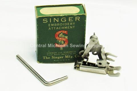 Vintage Original Singer Embroidery Attachment Single Thread # 26538