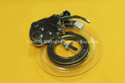 Decorative Daisy Flower Stitch Presser Foot For Low Shank ZigZag Machines