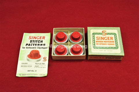 Vintage Original Singer Stitch Patterns For Automatic ZigZagger Part # 161008