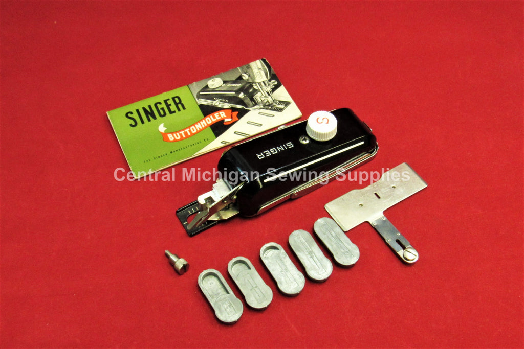 Vintage Original Singer Buttonholer Fits Low Shank Models 15, 27, 28, 66, 99, 101, 201, 221, 222