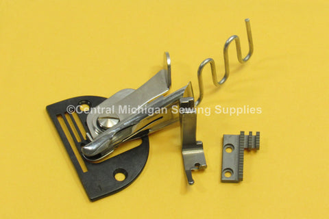 "Right Angle Binder Set With Regular Foot 1"" Fits Singer Industrial models 31, 44, 95, 96, 241, 245, 251. 281"