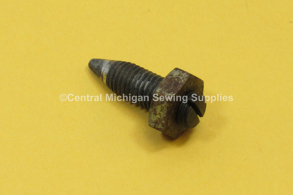 Singer Sewing Machine Treadle Cabinet Centering Screw For Flywheel & Pedal