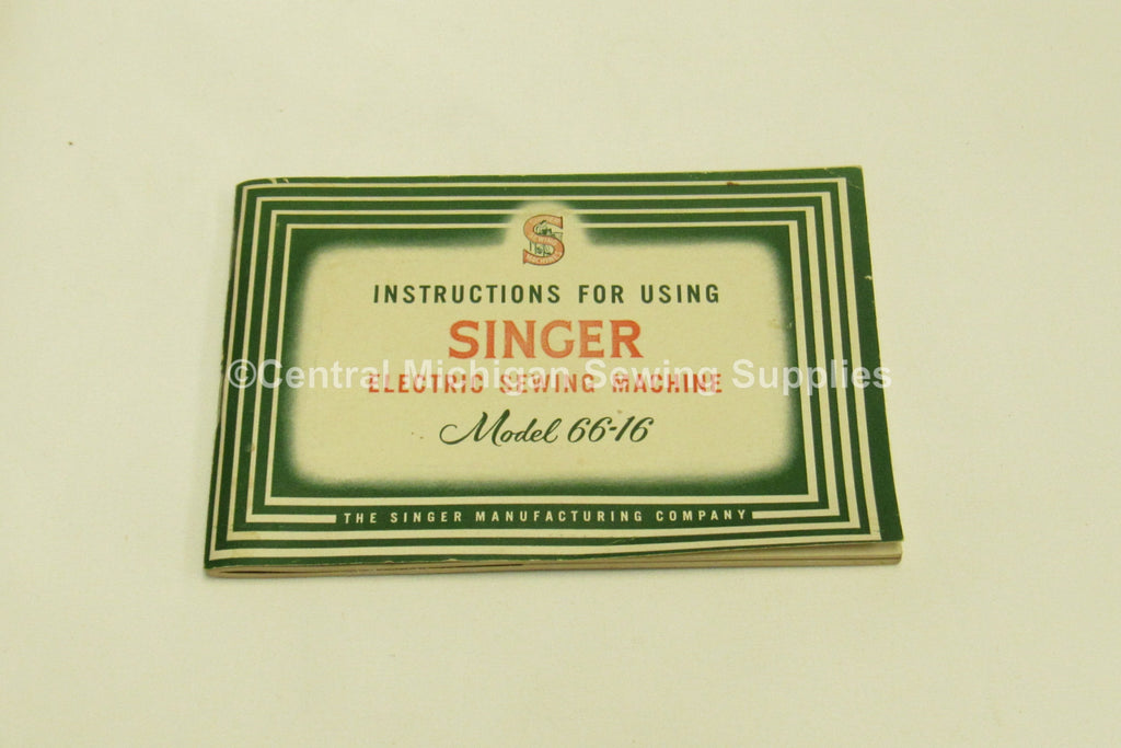 Vintage Original Singer Sewing Machine Model 4040 Instruction Magnificent Singer 347 Sewing Machine Instruction Manual
