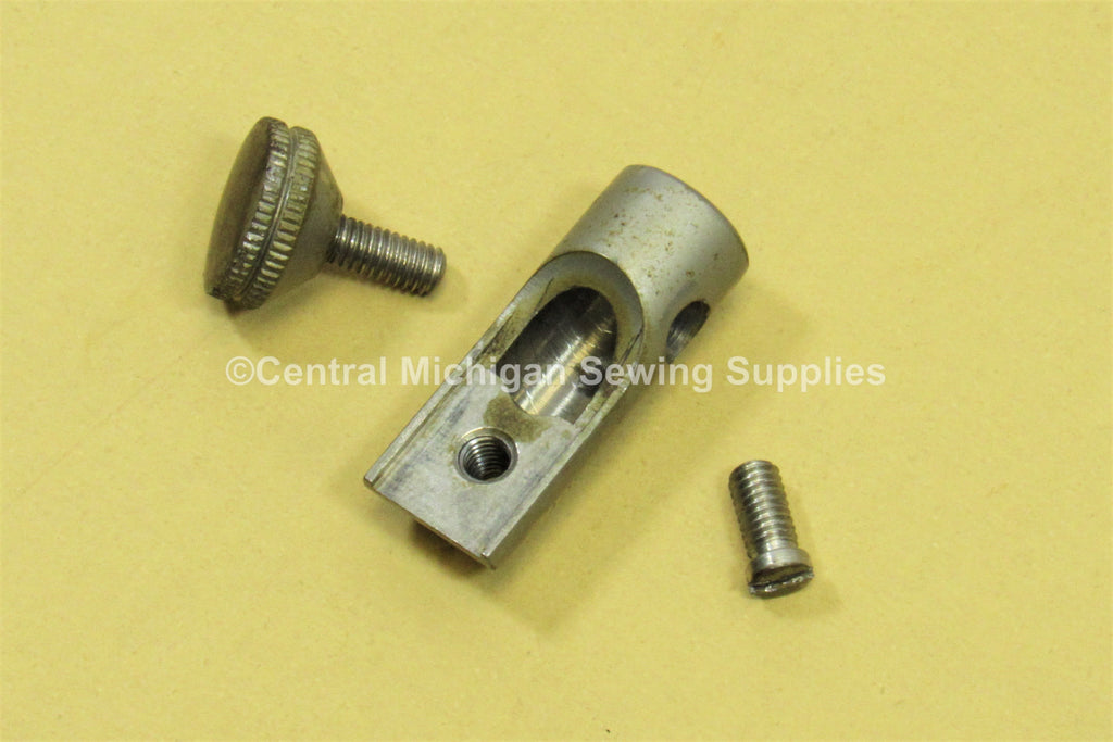Original Singer Model 66 Back Clamping Mounting Screw & Collar