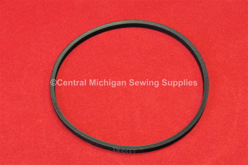 Singer Motor V-Belt Original Style Black # 193077 Fit Models 15-88, 15-90, 66, 99, 206, 306, 319
