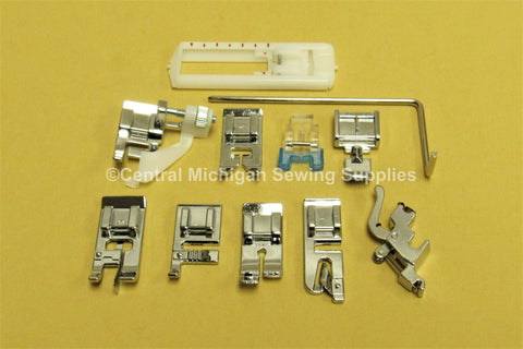 Singer Low Shank Snap On Feet & Attachments Fits Many Models