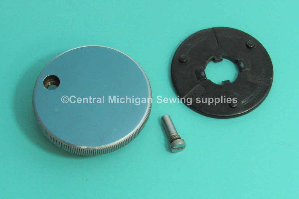 Original Singer Stop Motion Knob/Clutch With Set Screw & Washer Fits Model 301, 301A