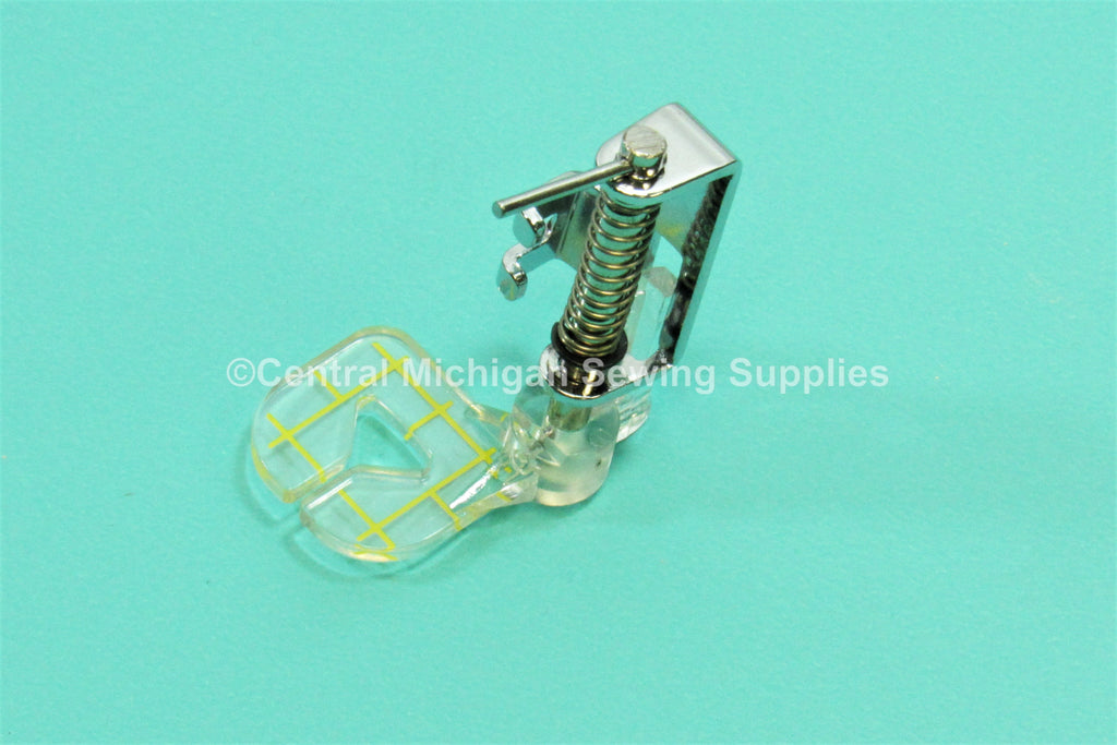Singer Sewing Machine Slant Needle Darning Free Motion Foot With Markings Fits Many Models