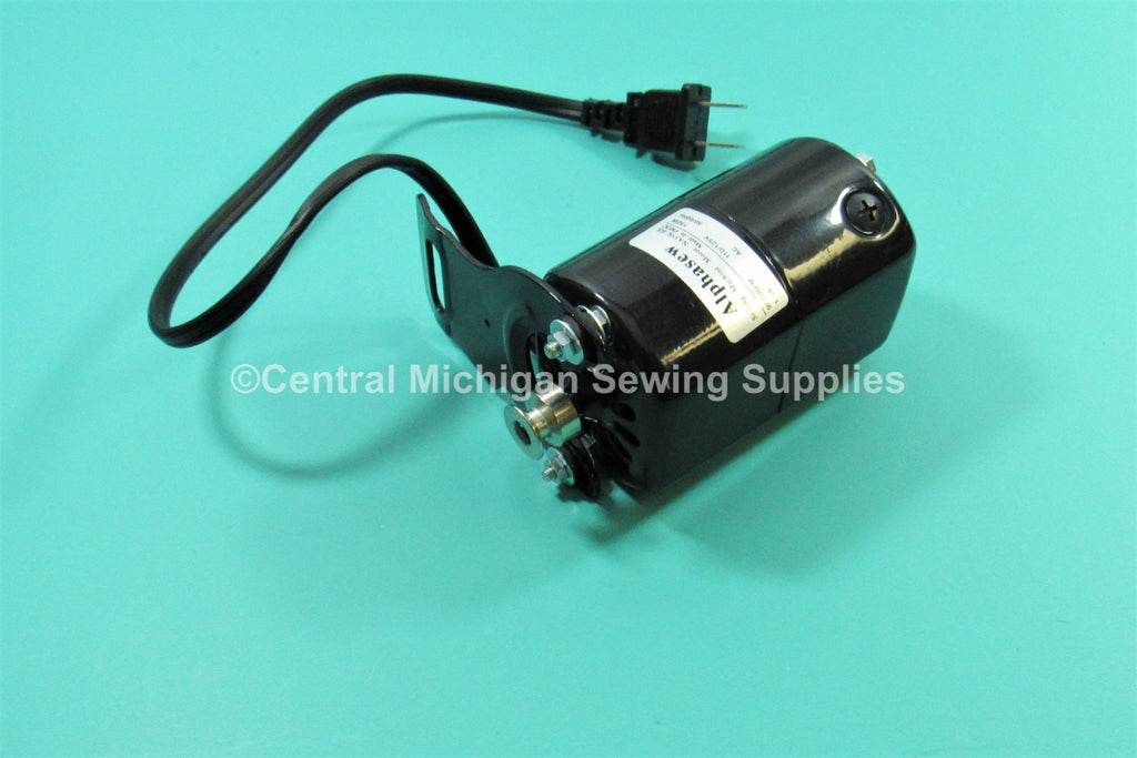 Alphasew Sewing Machine Motor 9000 RPM K-Bracket 1.5 AMP