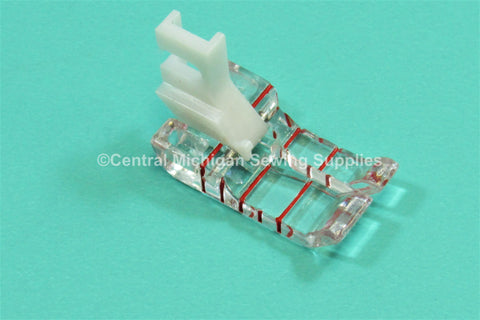 The Little Foot - Quilting Foot For Low Shank Center Needle Position Fits Singer 15, 27, 28, 66, 99, 201, 222, 206, 306, 319