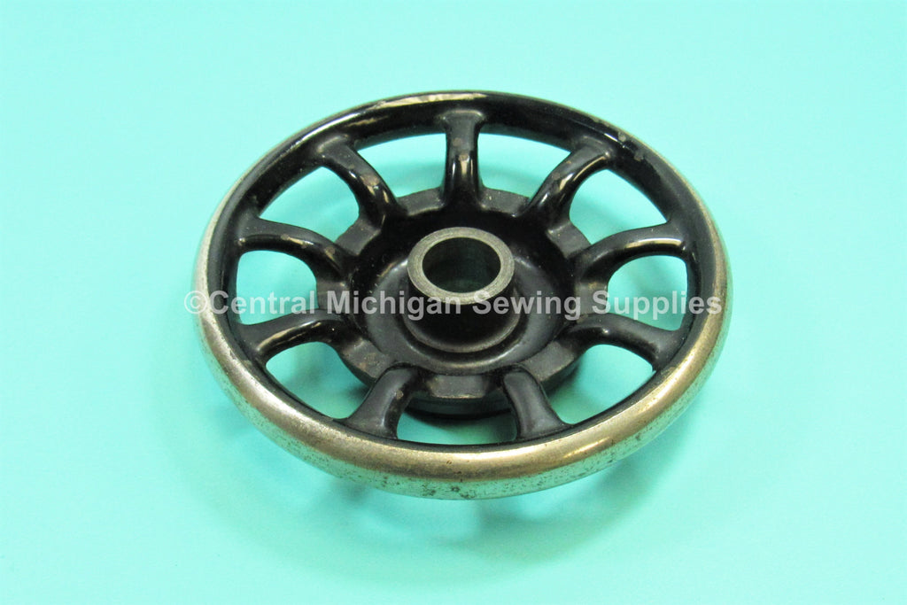 Original Singer 9 Spoke Hand Wheel Fits 20 mm Shaft Models 15, 66, 99, 28