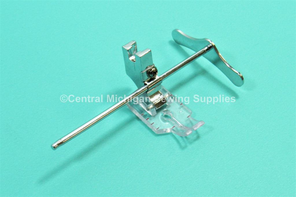 "Singer Sewing Machine Slant Needle 1/4"" Quilting Foot Fits Models 301, 401, 403, 404, 500, 503"