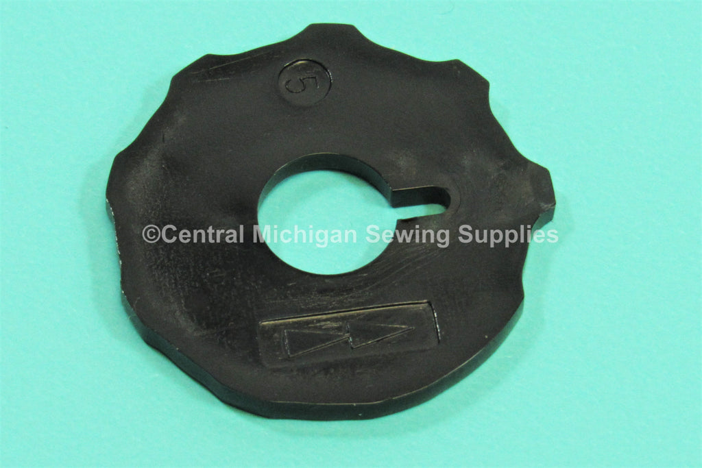 Singer Sewing Machine Arrowhead Cam # 5 Fits 206, 248, 258, 288, 306, 319, 328, 338, 348, 360, 477, 478,  1812, 1862, 2315, 2330, 2404, 2430, 2515, 2530, 2543, 3130, 3343